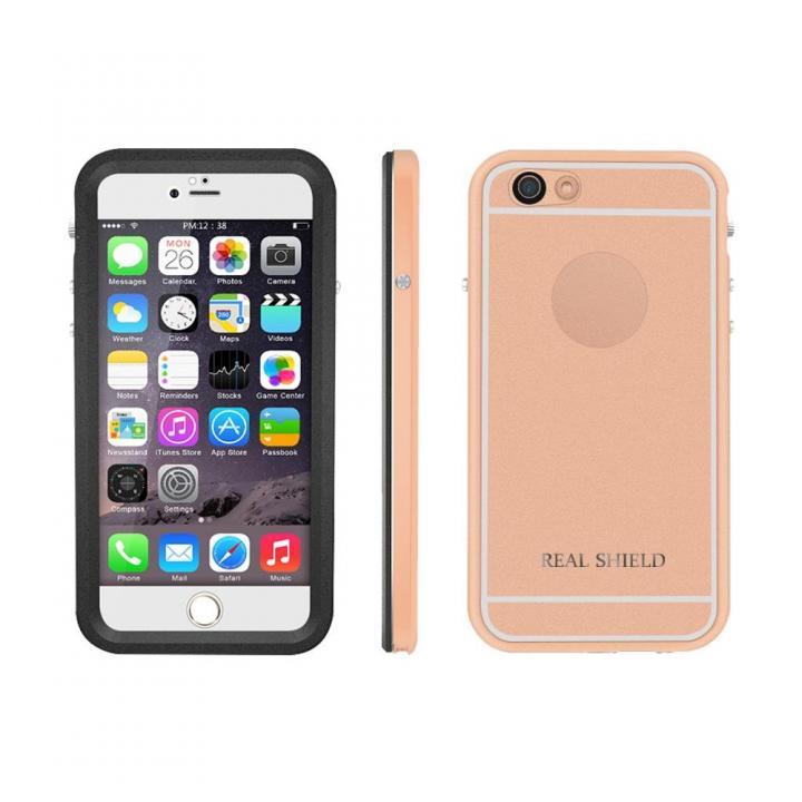 iPhone6s/6 ケース ウルトラスリム防水耐衝撃ケース インビンシブルシェルター ゴールド iPhone 6s/6_0