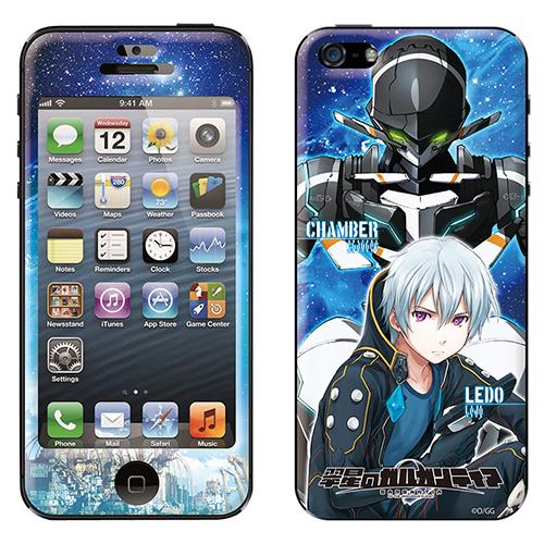iPhone SE/5s/5 ケース 翠星のガルガンティア スキンシール iPhone SE/5s/5 GG C&L_0