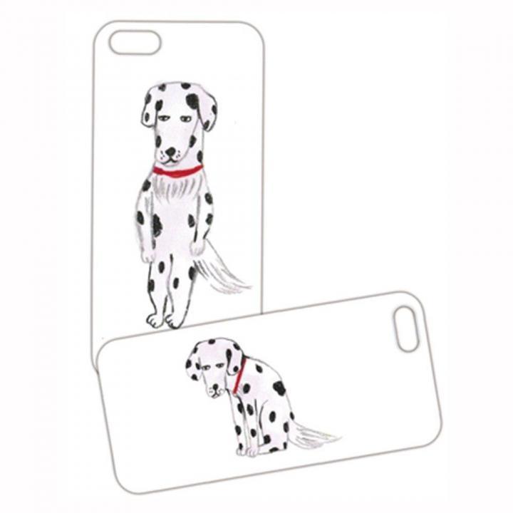 iPhone SE/5s/5 ケース プレートケース 柴田ケイコ 犬 iPhone SE/5s/5_0