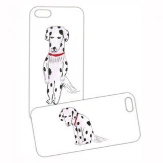 iPhone SE/5s/5 ケース プレートケース 柴田ケイコ 犬 iPhone SE/5s/5
