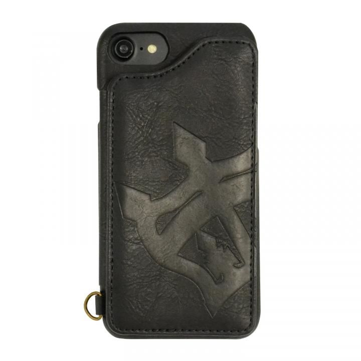 iPhone8/7/6s/6 ケース RODEO CROWNS 背面ケース ビッグクラウン ブラック iPhone 8/7/6s/6_0