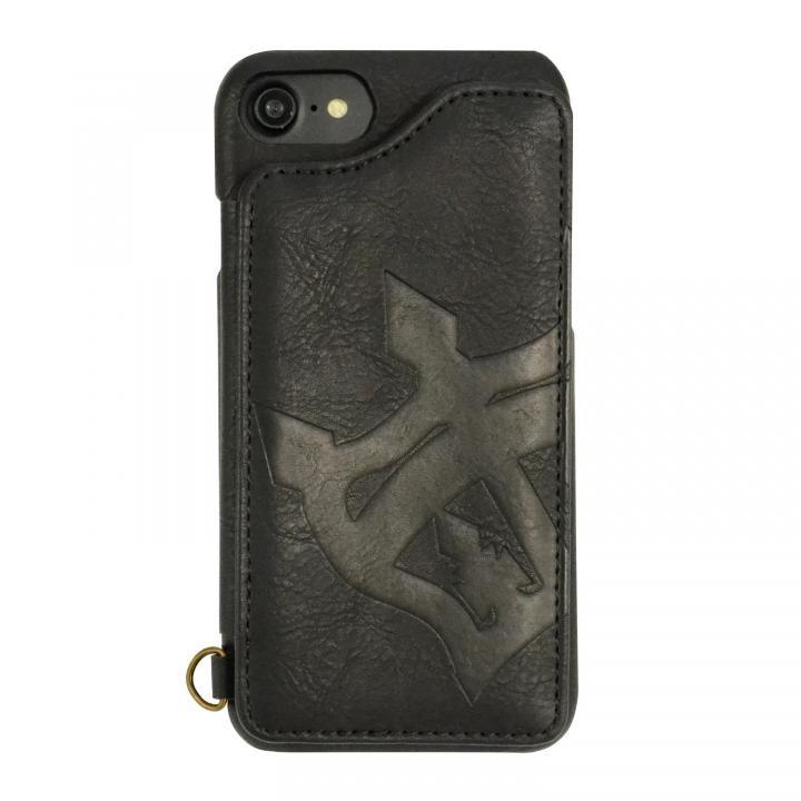 【iPhone8/7/6s/6ケース】RODEO CROWNS 背面ケース ビッグクラウン ブラック iPhone 8/7/6s/6_0