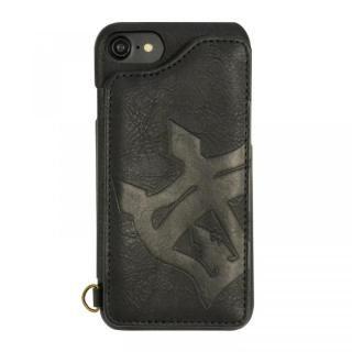 iPhone8/7/6s/6 ケース RODEO CROWNS 背面ケース ビッグクラウン ブラック iPhone 8/7/6s/6