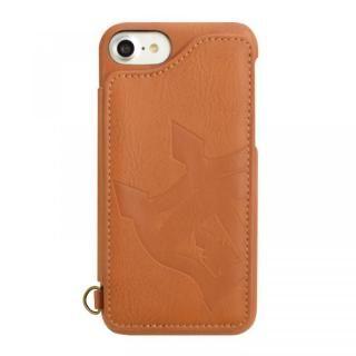 iPhone8/7/6s/6 ケース RODEO CROWNS 背面ケース ビッグクラウン キャメル iPhone 8/7/6s/6