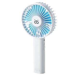 モバイル扇風機 ブルー