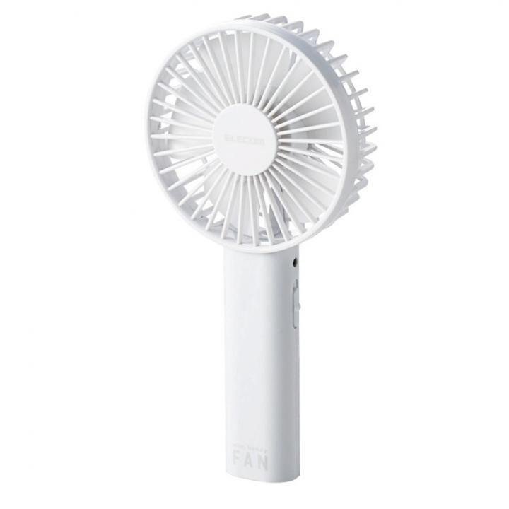 モバイル扇風機 ホワイト