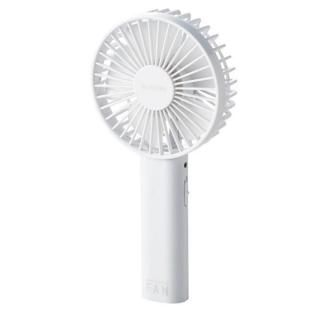モバイル扇風機 ホワイト【6月上旬】