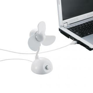USB扇風機(コンパクトタイプ) ホワイト_1
