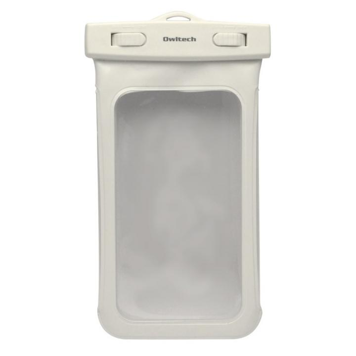 iPhone SE/5s/5 ケース IPX8 防水ソフトケース Waterproof ホワイト iPhone SE/5s/5c/5 iPod touch_0