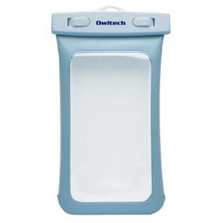 [新iPhone記念特価]IPX8 防水ソフトケース Waterproof ブルー iPhone SE/5s/5c/5 iPod touch