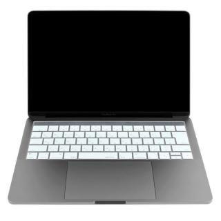 キースキン 2016 MacBook Pro 13インチ& 15インチ Touch BarとTouch ID対応 キーボードカバー ホワイト