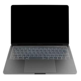 キースキン 2016 MacBook Pro 13インチ& 15インチ Touch BarとTouch ID対応 キーボードカバー クリア