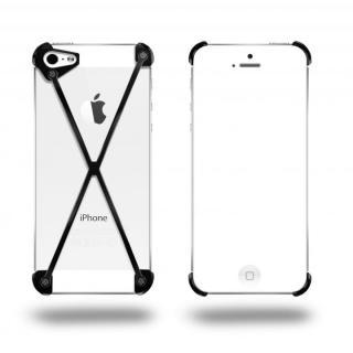 端末の美しさを活かす RADIUS All Slate X ブラック・ブラック iPhone 5s/5ケース