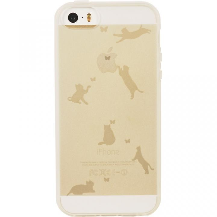 iPhone SE/5s/5 ケース マットケース ネコ iPhone SE/5s/5ケース_0