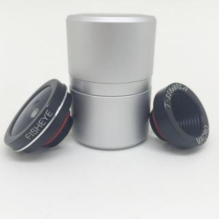セルカレンズマウント SURPASS-i オプション 交換用 魚眼レンズ&マクロレンズ