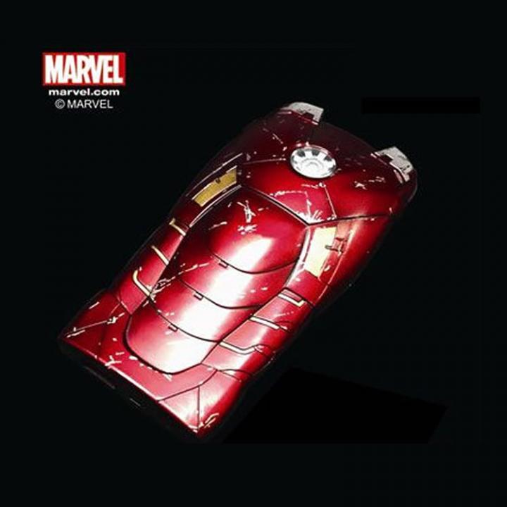 [5000mAh] モバイルバッテリー アイアンマン3 MARKVII バトルダメージ_0