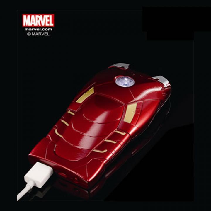 [5000mAh] モバイルバッテリー アイアンマン3 MARKVII ノーマル