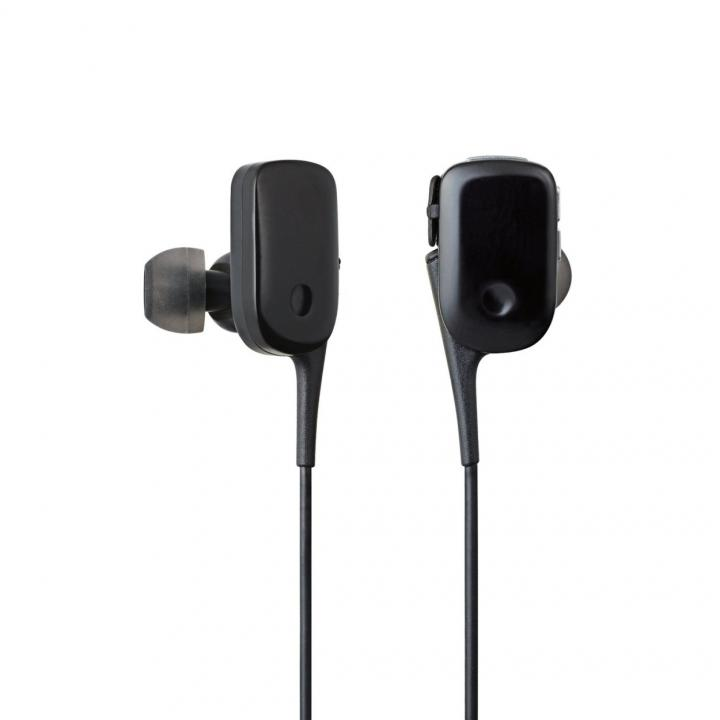 軽量12gでコンパクト Bluetooth ワイヤレスイヤホン ブラック_0