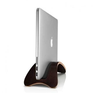 木材を研磨して作られたスタンド Twelve South BookArc md  MacBook エスプレッソ