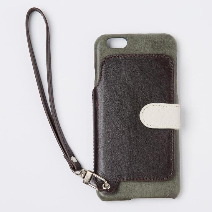 【iPhone6s/6ケース】RAKUNI レザー手帳型ケース with ストラップ アマゾン iPhone 6s/6_0