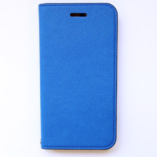 iPhone6 ケース invite.L イタリアンPU手帳型ケース ブルー iPhone 6s/6_0