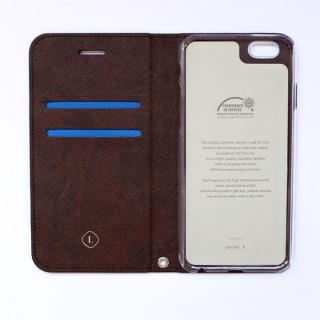 【iPhone6ケース】invite.L イタリアンPU手帳型ケース ブルー iPhone 6s/6_1