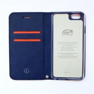【iPhone6ケース】invite.L イタリアンPU手帳型ケース オレンジ iPhone 6_1