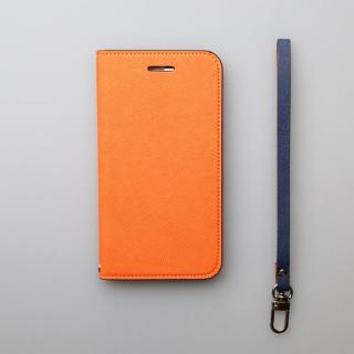 【iPhone6ケース】invite.L イタリアンPU手帳型ケース オレンジ iPhone 6_3