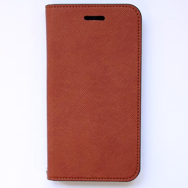 iPhone6 ケース invite.L イタリアンPU手帳型ケース キャメル iPhone 6_0
