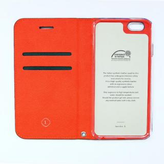 【iPhone6ケース】invite.L イタリアンPU手帳型ケース ダークグリーン iPhone 6s/6_1