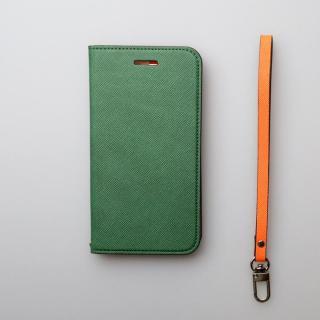 【iPhone6ケース】invite.L イタリアンPU手帳型ケース ダークグリーン iPhone 6s/6_3