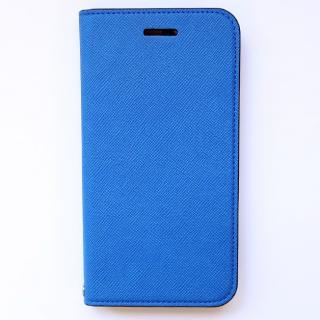 invite.L イタリアンPU手帳型ケース ブルー iPhone 6 Plus