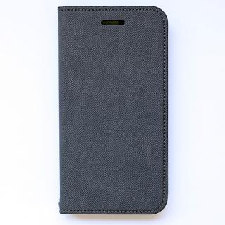 invite.L イタリアンPU手帳型ケース グレー iPhone 6 Plus