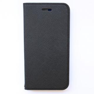 invite.L イタリアンPU手帳型ケース ブラック/グレー iPhone 6 Plus