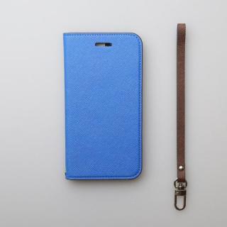 【iPhone6ケース】invite.L イタリアンPU手帳型ケース ブルー iPhone 6s/6_3