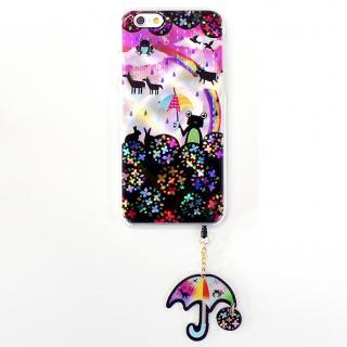 【iPhone6ケース】ハードケース&イヤホンジャックセット shinyプラスシルエットシリーズ かえる iPhone 6