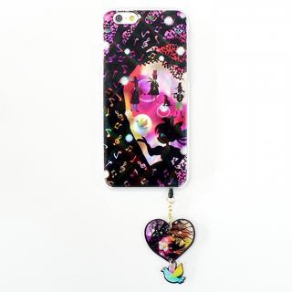 ハードケース&イヤホンジャックセット shinyプラスシルエットシリーズ 女の子 iPhone 6
