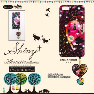 【iPhone6ケース】ハードケース&イヤホンジャックセット shinyプラスシルエットシリーズ 女の子 iPhone 6_1