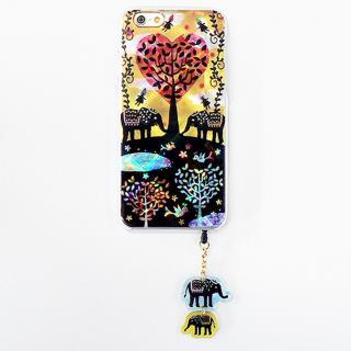ハードケース&イヤホンジャックセット shinyプラスシルエットシリーズ ぞう iPhone 6