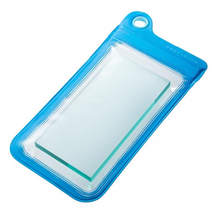 iPhone6/SE/5s/5 ケース 防滴ケース Splash Proof ブルー iPhone iPod touch_0