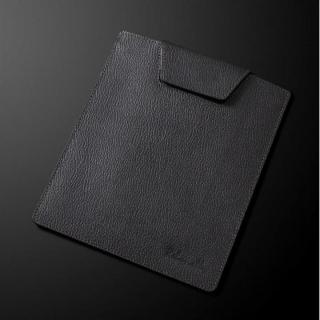 日本製高級牛皮 タブレットシングルポーチ シルバー