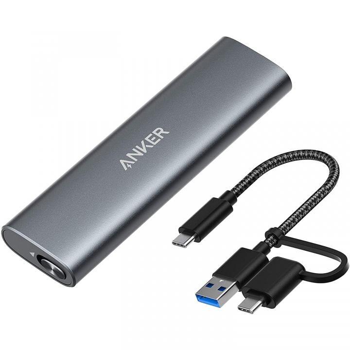 Anker PowerExpand M.2 SSD Enclosure グレイ_0