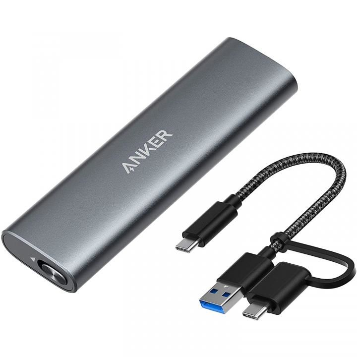 Anker PowerExpand M.2 SSD Enclosure グレイ【9月下旬】_0