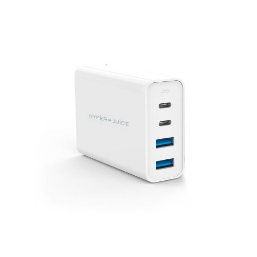 HyperJuice GaN 100W Dual USB-C/USB-A ACアダプタ_0