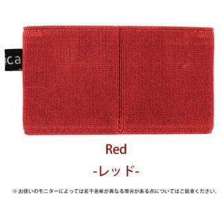 減らす財布 ラシカル「ニルウォレット」レッド【6月上旬】