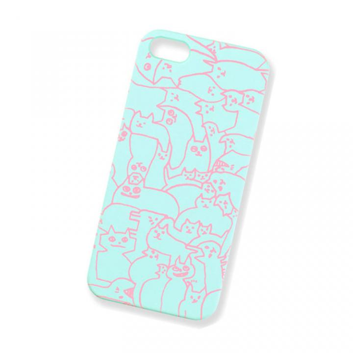 iPhone SE/5s/5 ケース AIUEO iPhone5 Case NEKO PUZZLE LBL_0