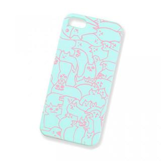 【iPhone SE/5s/5ケース】AIUEO iPhone5 Case NEKO PUZZLE LBL