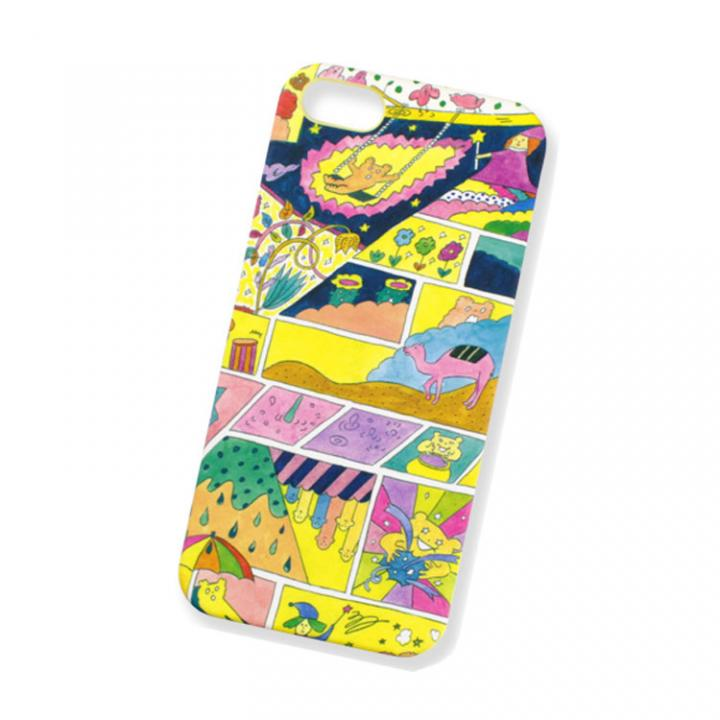 iPhone SE/5s/5 ケース AIUEO iPhone5 Case MANGA NV_0