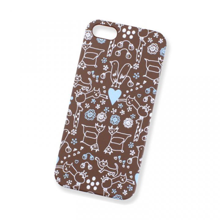 iPhone SE/5s/5 ケース AIUEO iPhone5 Case MORITUMO BR_0