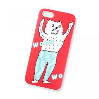 AIUEO iPhone SE/5s/5 Case WOLF RD